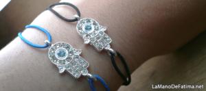 pulseras accesorios mano de fatima