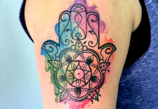 Tatuajes De La Mano De Fátima Conoce El Significado ❶❷❸