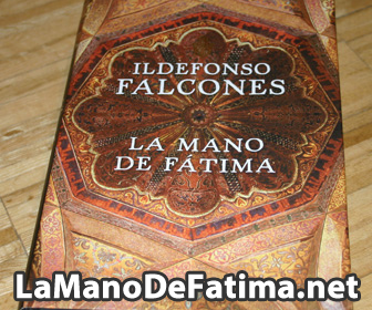 La carátula del libro La Mano de Fátima, de Ildefonso Falcones